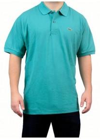 Camisa Polo Lacoste Ruisseau 100% Prima Cotton  Verde Tam .6 (G)