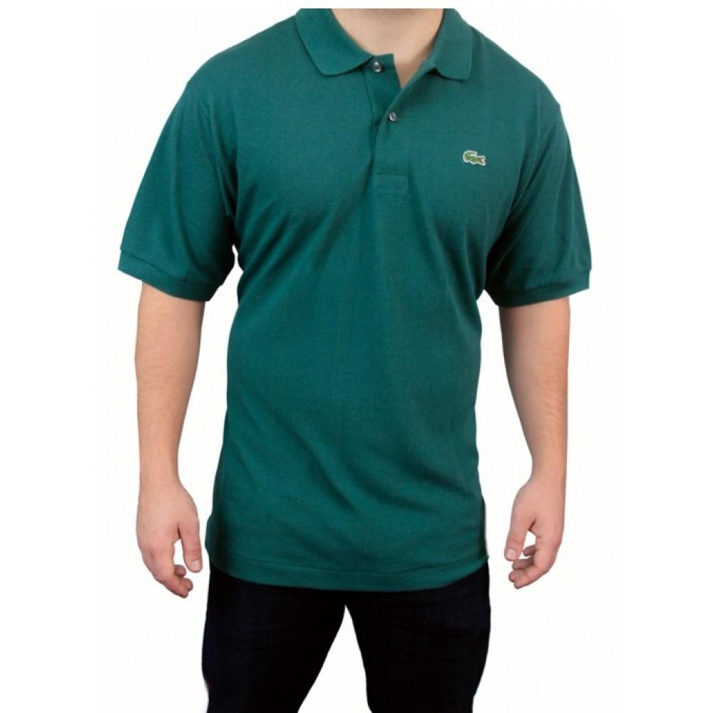 1702e8bfd Camisa Polo Lacoste 100% Prima Cotton Verde Escuro Tam. 6 (G)