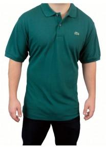 Camisa Polo Lacoste 100% Prima Cotton Verde Escuro Tam. 6 (G)