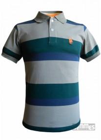 Camisa Polowear Top Quality  Verde/Azul/Cinza
