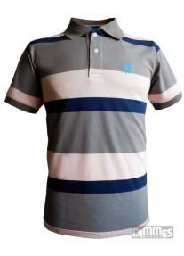Camisa Polowear Top Quality  Azul/Cinza/Rosa